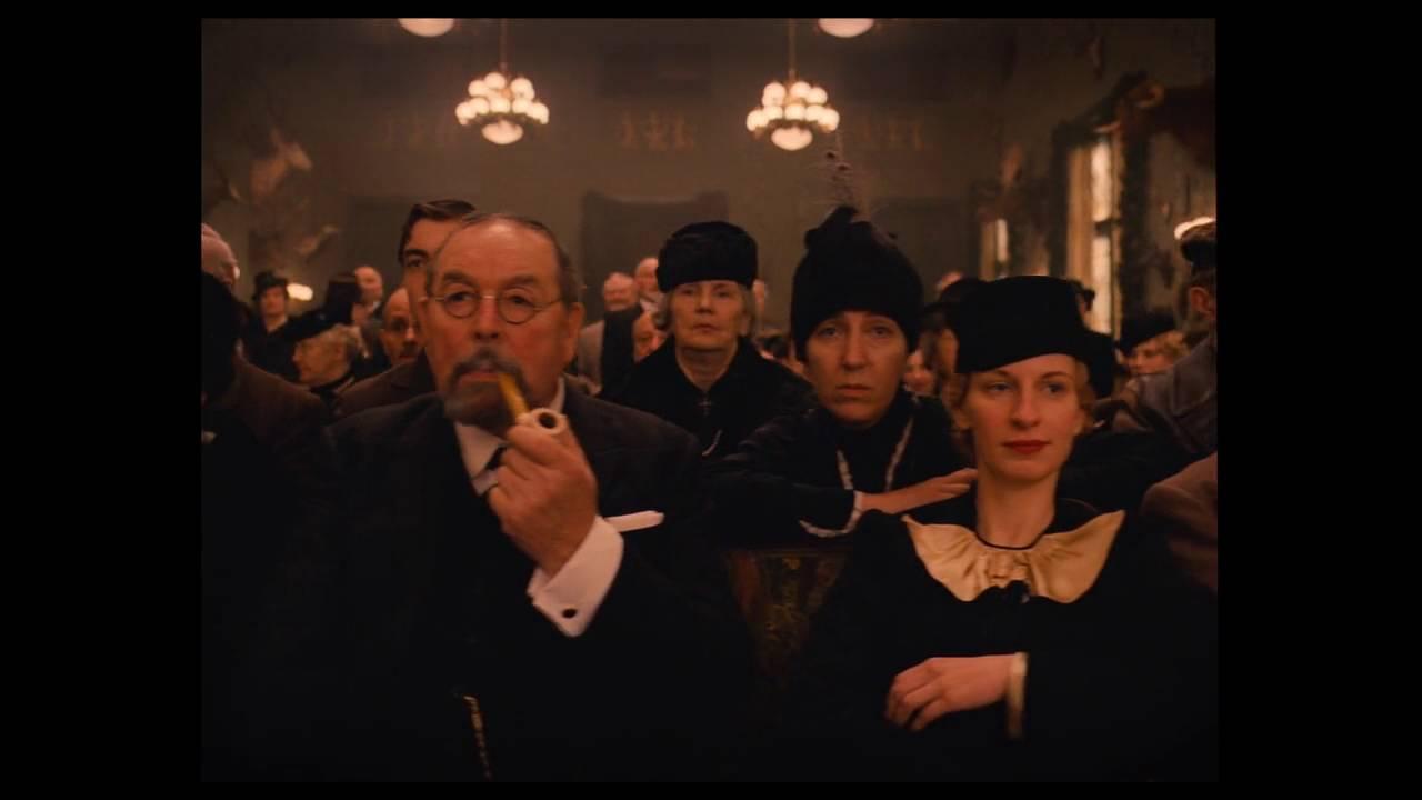 The Grand Budapest Hotel Last Will Scene