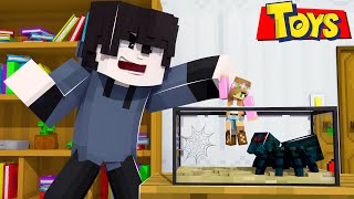 Evil BROTHER *STEALS* his SISTERS TOYS in Minecraft!
