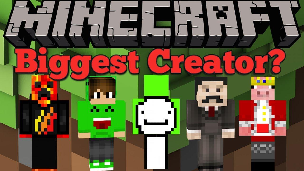 Top 8 Biggest Minecraft Youtubers of 8
