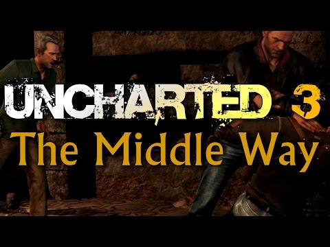 Uncharted 3: Drake's Deception - Chapter 9: The Middle Way Walkthrough (Ps3/1080p/60fps)