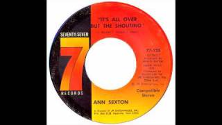 Ann Sexton - It