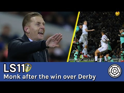 LS11 | Garry Monk after the win over Derby