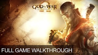 God Of War Ascension Complete Game Walkthrough Full Game Story