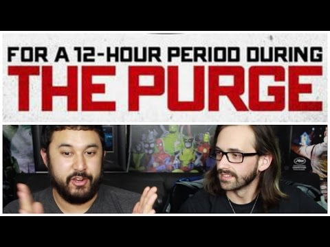 THE PURGE T.V. SERIES! How It Could Work!!!