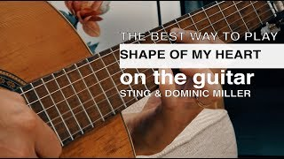 Shape of My Heart Guitar Tutorial / Lucid Dreams Guitar Lesson / Sting & Dominic Miller Guitar