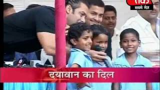 Salman brings cheers to cancer patients. 2 of 3
