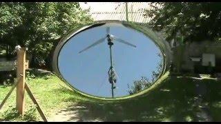 Полностью самодельный ветрогенератор Сергея (sercat)