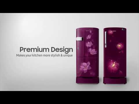 Samsung Single Door Premium Design Refrigerator | Samsung Smart Plaza Bangalore