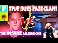 Tfue Suing FaZe Clan Over Underage Drinking, Unfair Contract, Gambling and Much More