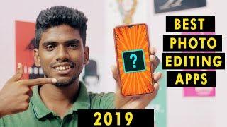 2019 Best Editing Apps | Tamil | Photo Editing | Vignesh JR
