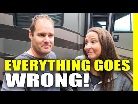 Everything Goes WRONG! RV Living, Cannon Beach, Oregon Coast, Haystack Rock