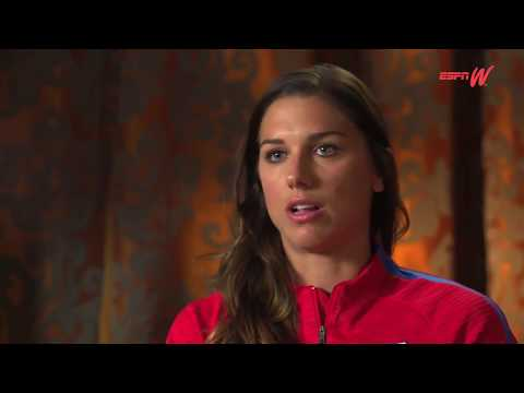 """Alex Morgan EXCLUSIVE: """"NO Excuses...USWNT Must Perform Better!"""" (ESPNW Interview w/Pinoe) - 9-15-17"""