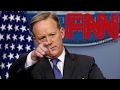 NEW Sean Spicer Goes After Jim Acosta And Fake News CNN
