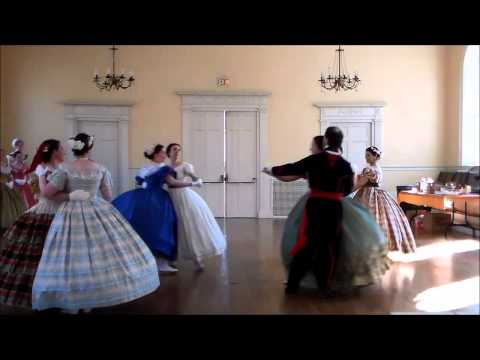 Dances from the 1860s Performed  the Commonwealth Vintage Dancers