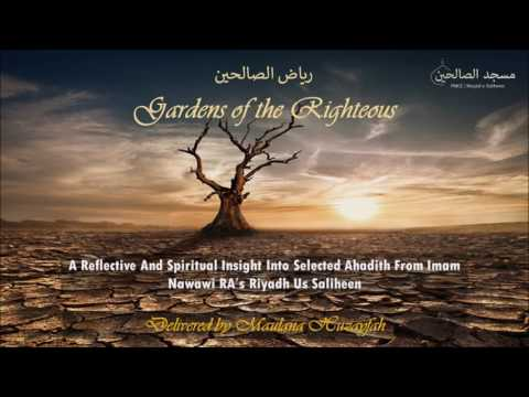Riyadh Saliheen-Chapter on the virtue of living a life of abstinence (zuhd)