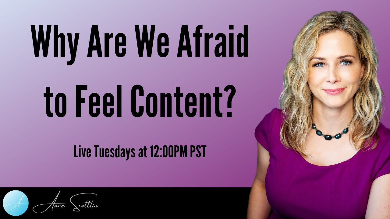 Why Are We Afraid To Feel Content?