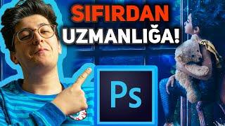 SIFIRDAN Adobe PHOTOSHOP CC 2020 Dersleri (Fotoğraf Editleme)