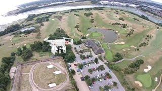 DJ Phantom Vision + Quadcopter Drone at Cams Hall Estate Aug 2014