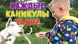 КАЖДЫЕ КАНИКУЛЫ ТАКИЕ! (КАЖДОЕ ЛЕТО ТАКОЕ) - ПАРОДИЯ МАРК и ЧЕБУРЕК Новая Серия! Видео для детей