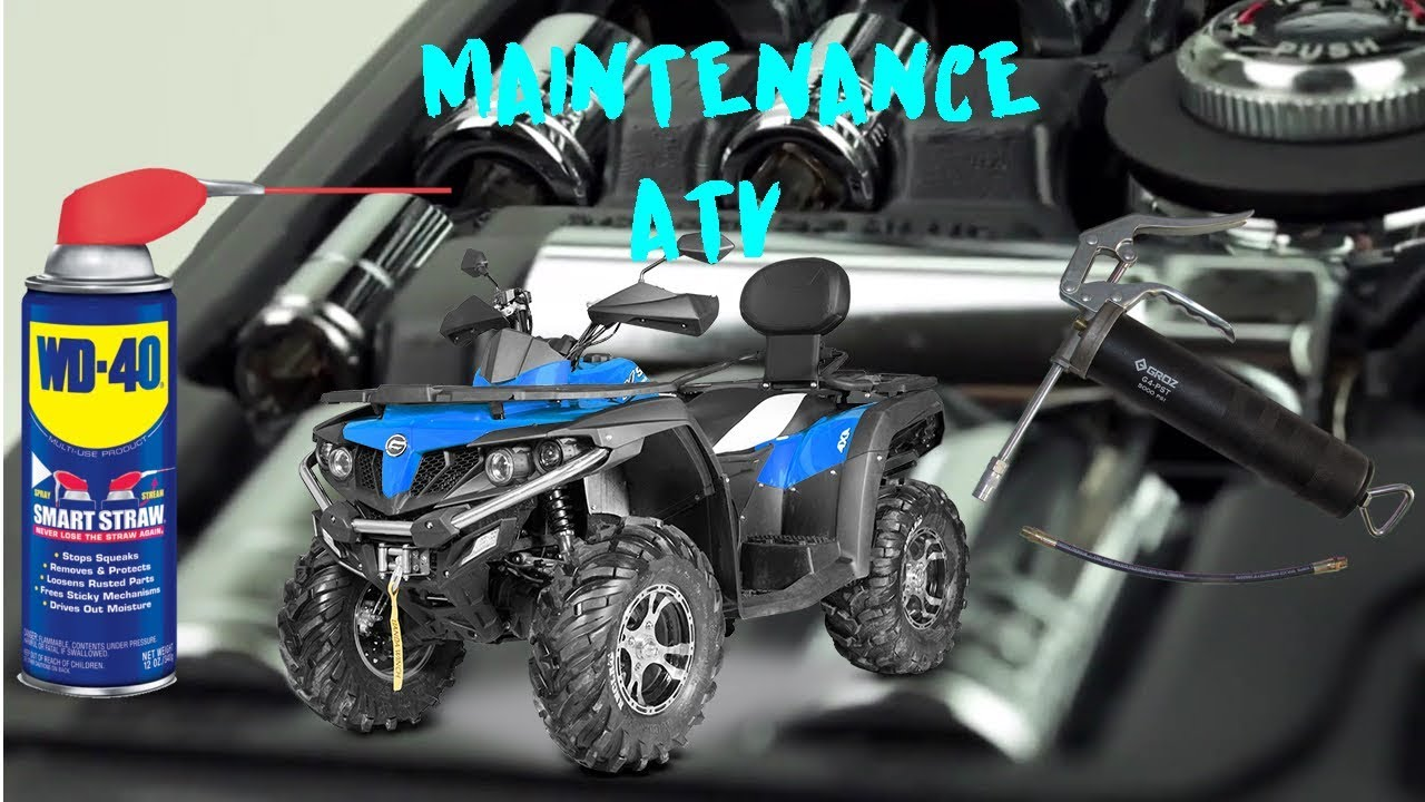 ATV MAINTENANCE CFORCE 550 CFMOTO EPS