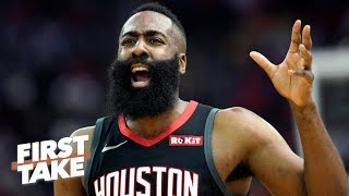 James Harden can't afford to go cold on 3's against the Warriors – Max Kellerman | First Take