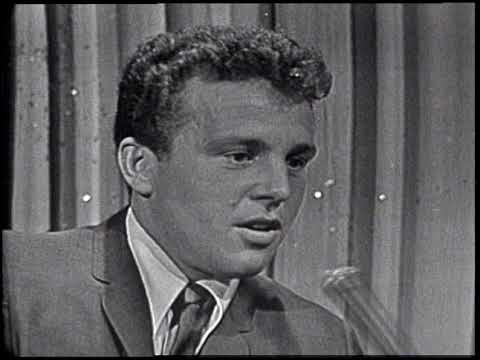 American Bandstand 1964- Interview Bobby Vinton