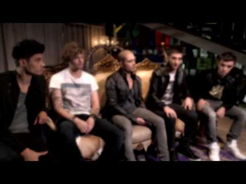 The Wanted talk Word Of Mouth
