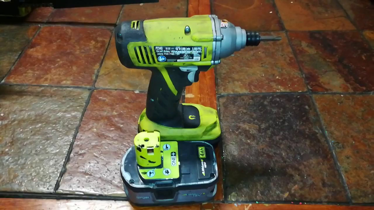 Ryobi One+ 18V 1/4 Inch Cordless Impact Driver  3-year review, TOOL-FREE  BIT CHANGING
