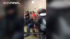 Police officer caught on camera slamming teenage girl to ground, North Carolina