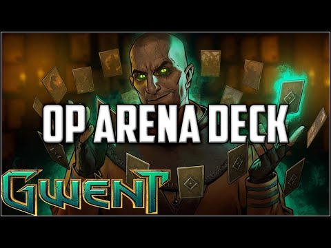 Gwent Flawless 9 Win Arena Journey ~ Gwent Arena Mode Stream Gameplay Part 1