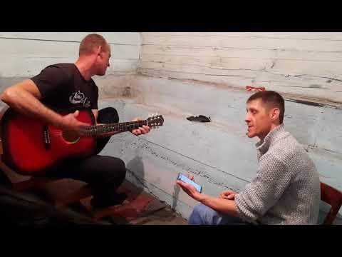 Одинокая ветка сирени под гитару Валерий Залкин