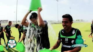 """embeded bvideo Club Santos cumple el reto """"Ice Bucket Challenge"""""""