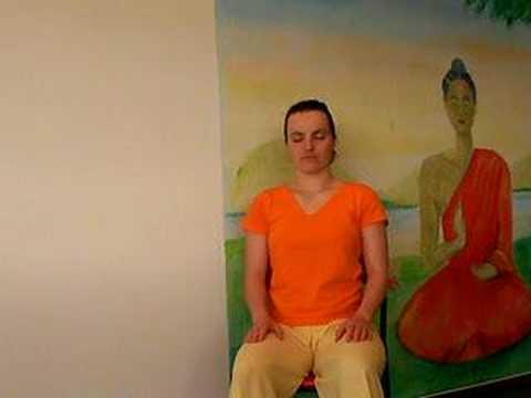entspannungs bung auf dem stuhl yoga zum mitmachen youtube