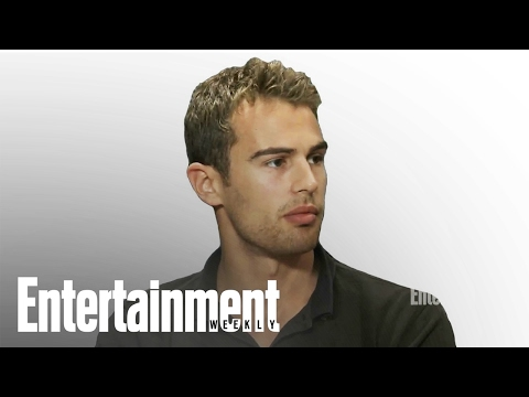 Divergent: Shailene Woodley, Theo James, and Neil Burger  ComicCon  Entertainment Weekly