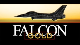 Falcon Gold (Dos PC) Campaign-Gameplay / Spectrum HoloByte / 1993