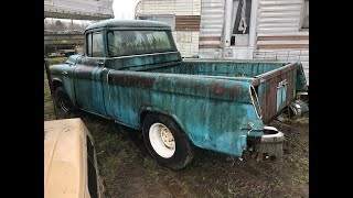 1955 GMC Suburban Pickup Rescue. One of 300 Made...My Dream Truck (CTR-179)