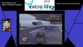 Extra Life 2015: Part 15C - Grand Theft Auto III