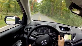 2015 Honda CR-V Touring - WR TV POV Test Drive(2015 Honda CR-V Touring 2.4L I-4 185 HP / 181 LB-FT CVT Transmission Curb Weight: 3624 LBS Towing: 1500 LBS MPG: 26 City / 33 HWY Warranty: 3 Years ..., 2014-10-15T12:30:00.000Z)