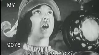 Stock Footage - Early 1930s Radio Broadcasting