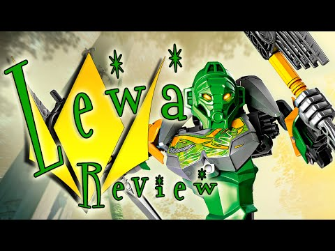 BRD reviews BIONICLE Lewa Master of Jungle 70784