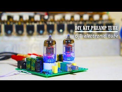Tube Buffer Preamplifier Module Audio Signal Board DIY Kit ICStation