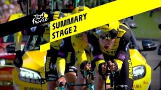 Summary - Stage 2 - Tour de France 2019