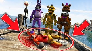 animatronics vs murder mystery who killed foxy gta 5 mods for kids fnaf funny moments
