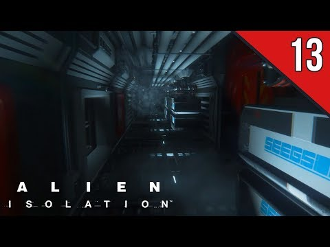 Let's Play - Alien: Isolation - Part 13 - Distribution Conduit - [NIGHTMARE] Gameplay Walkthrough