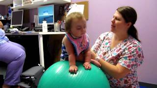 Rebekah Faith with Trisomy 18 Learning to sit up