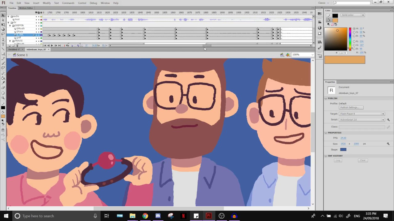 Animation Tutorials #2: Flash Puppeting Workflow