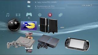TUTO FR JOUER AUX JEUX PS1 PS2 PSP SUR PS3 CFW