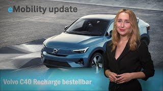 eMobility update: E-Volvo C40 Recharge, Bentley Flying Spur, Renault und Plug Power Bündnis, BMW.