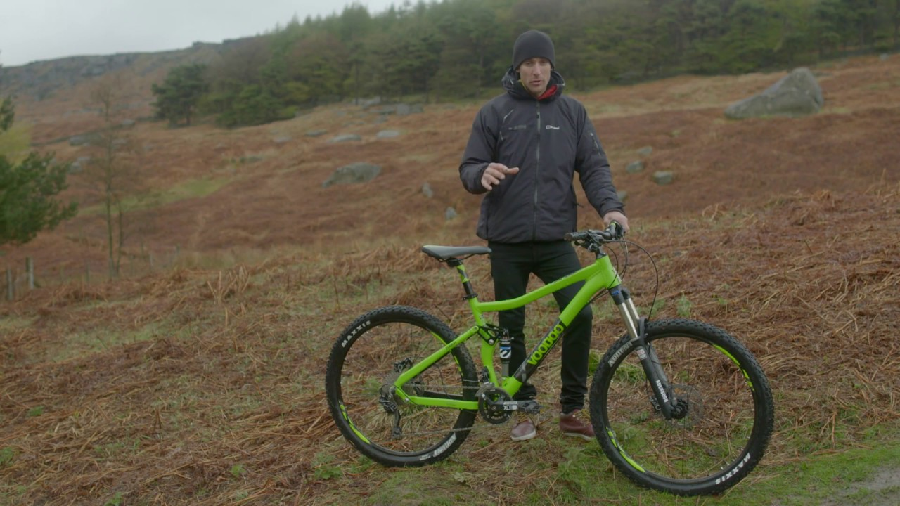 On the trail with the Voodoo Zobop Men's Mountain Bike | Halfords UK