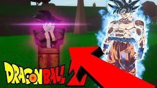 BOOTLEG ULTRA INSTINCT | New ROBLOX DBZ Game | ROBLOX Dragon Soul
